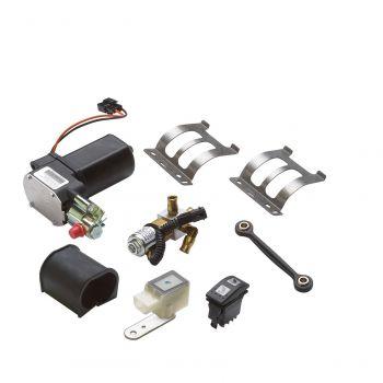 Ensemble de suspension pneumatique arrière ajustable