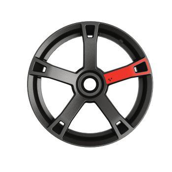 Décalques pour roues - Rouge adrénaline