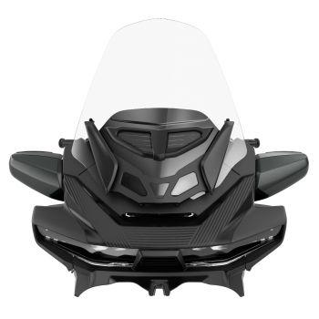 Pare-brise ventilé touring réglable - Transparent