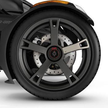 Autocollants de roue - Titane liquide