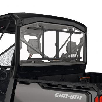 Fenêtre arrière en verre avec panneau coulissant