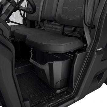 Compartiment sous le siège conducteur